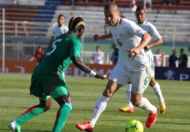 Burkina Faso laat langs Algerije