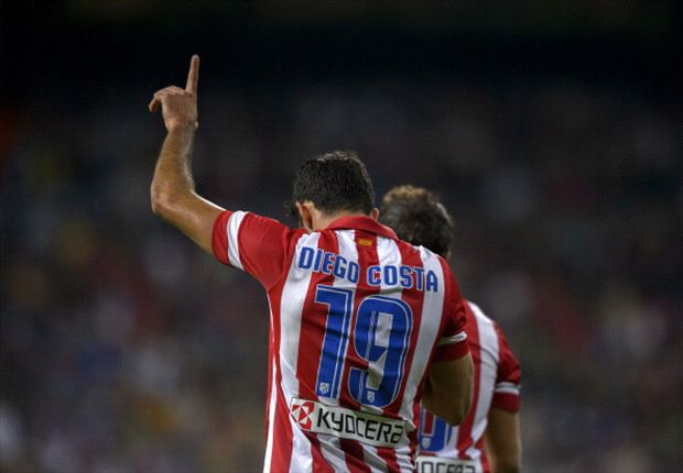 The new Falcao: Diego Costa is now La Liga's best No. 9
