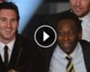 ► Pelé calificó a Messi