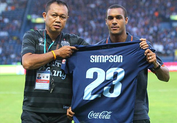Thai club signs former Arsenal starlet Jay Simpson