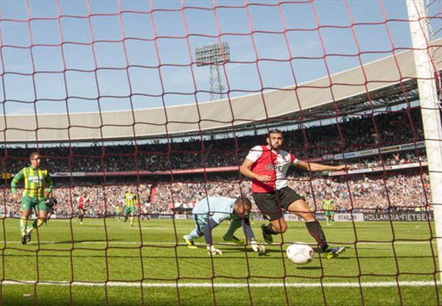 Pelle schiet Feyenoord ruim voorbij ADO
