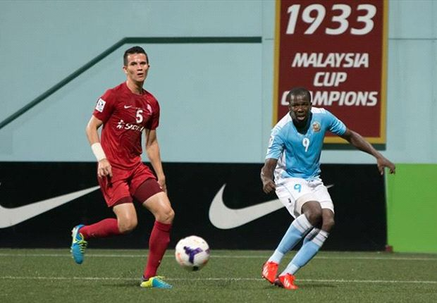 James (right) is confident of getting the better of Baihakki (left) and co in the 2nd leg (Photo: FAS)