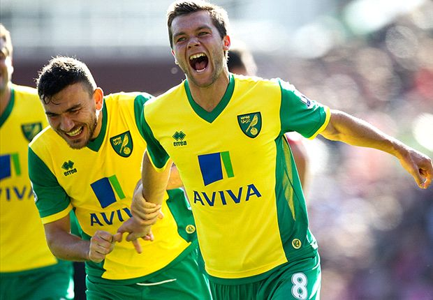 Norwich midfielder Howson not carried away with 'best form'