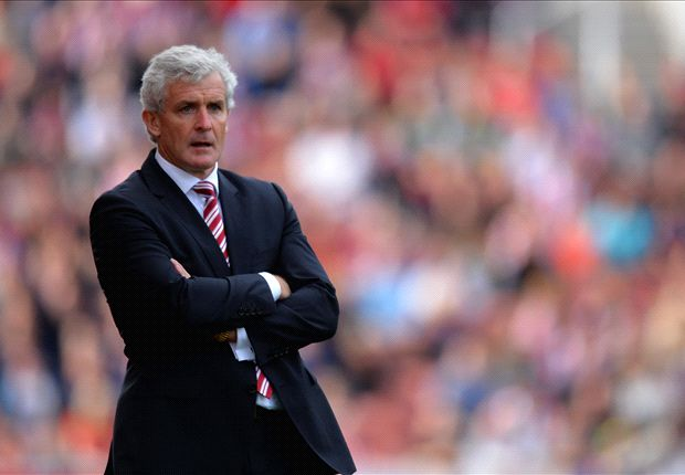 Hughes criticises referee after Stoke defeat