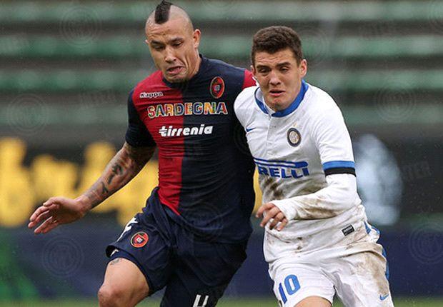 Cagliari 1-1 Inter: Nainggolan nets to keep Mazzarri's men off top spot