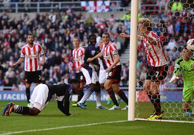 Liverpool mencuri angka di rumah Sunderland