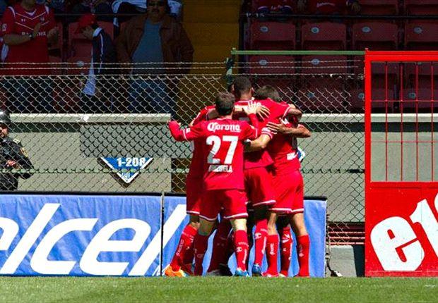 Liga Bancomer MX: Toluca 7-1 Atlante l Sin Piedad