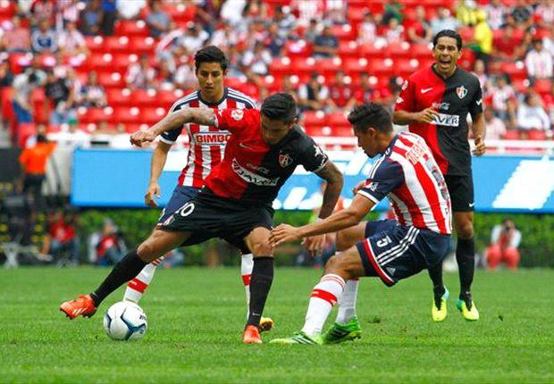 Liga Bancomer MX: Chivas 1-1 Atlas l Vibrante clásico