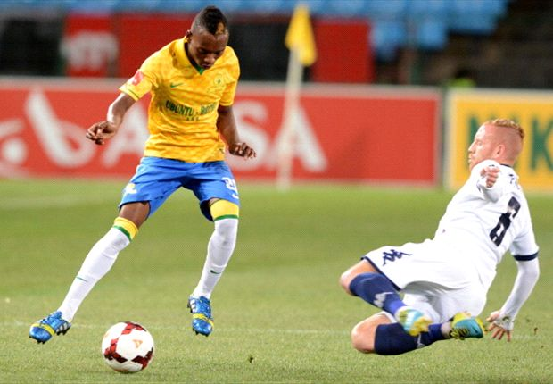 Khama Billiat in action against Bidvest Wits
