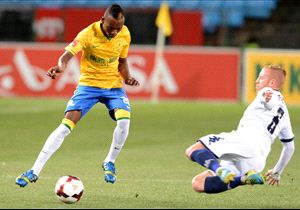 1 March 2014 | Bidvest Wits were looking to add to Mamelodi Sundowns' woes when the two clubs locked horns in a league clash at the Bidvest Stadium.