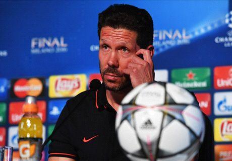 Simeone dismisses defensive jibes