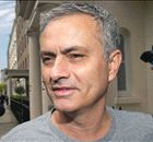 MOURINHO: Visits training ground