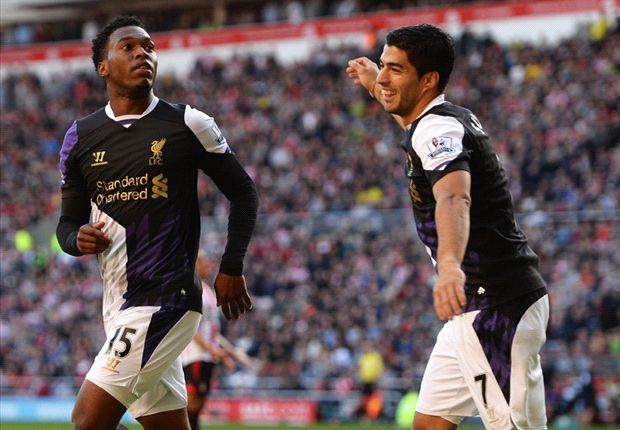 In Suarez and Sturridge, Liverpool boasts England's best strike partnership