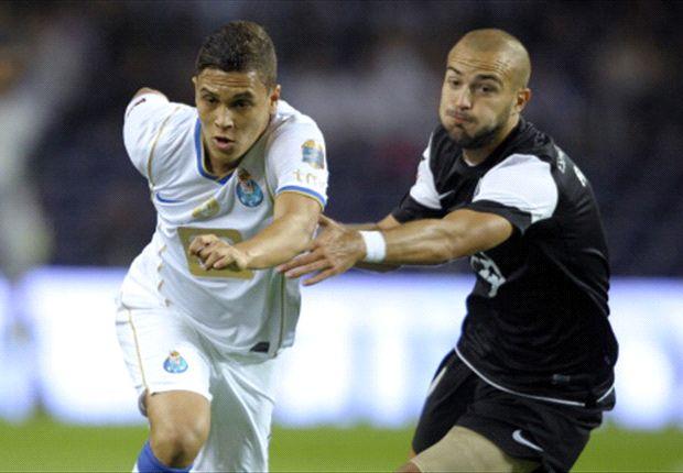 Quintero actuó 67 minutos en la victoria del Porto frente a V Guimaraes.