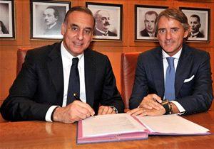 Roberto Mancini teken kontrak di Galatasaray