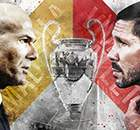 CHAMPIONS: Zidane vs Simeone, un duelo con historia