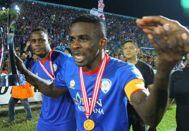 Greg Nwokolo kala menjuarai Menpora Cup 2013