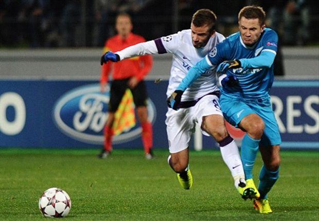 FC Zenit en Austria Wien weten niet te scoren