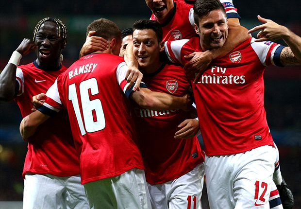 Ozil brilliance allows Wenger to celebrate 17 years in style
