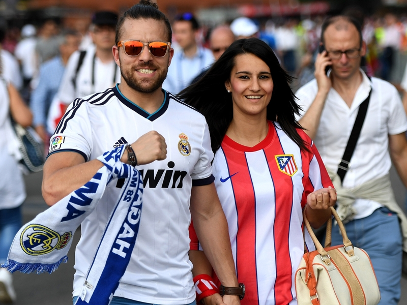 LIVE: Real Madrid-Atletico Madrid in diretta