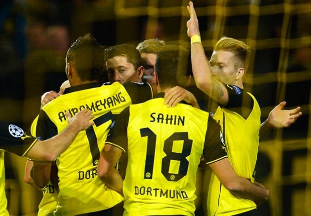 Borussia Dortmund 3-0 Olympique de Marseille: Lewandowski leads BVB to comfortable success