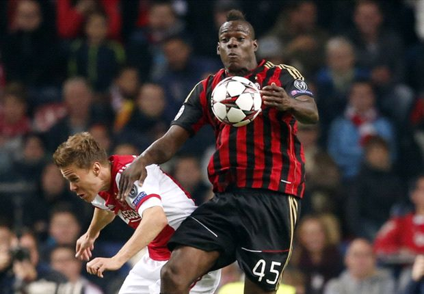 Ajax 1-1 AC Milan: Dutch denied at the death by Balotelli