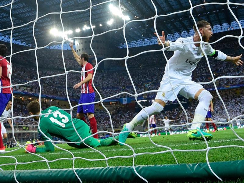 Real-Atletico Madrid 6-4 d.c.r.: Le 'Merengues' conquistano l'undicesima Champions