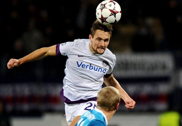 Austria Vienna 4-1 Zenit St Petersburg: Holiner double helps hosts first win