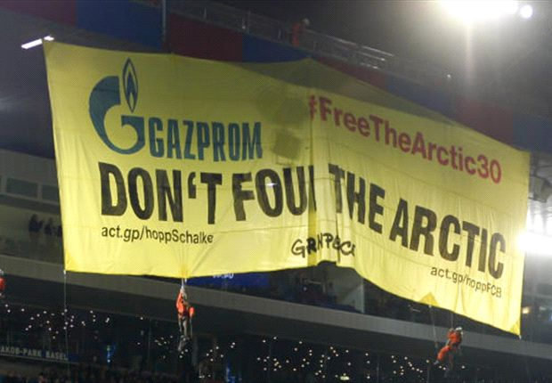 FC Basel droht saftige Strafe wegen Greenpeace-Aktion