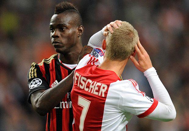 Fischer was op rand van AC Milan