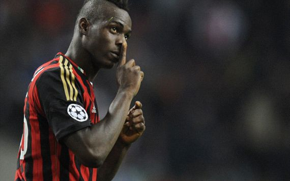 I will change my attitude - Balotelli