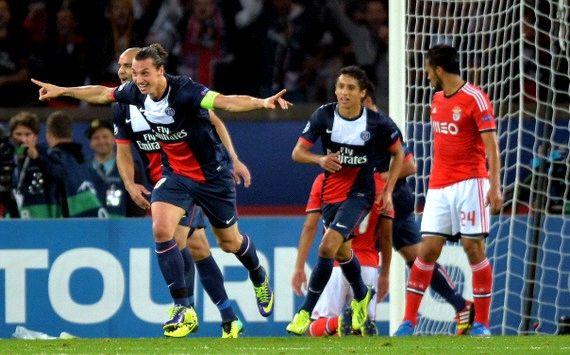 Benfica vs PSG