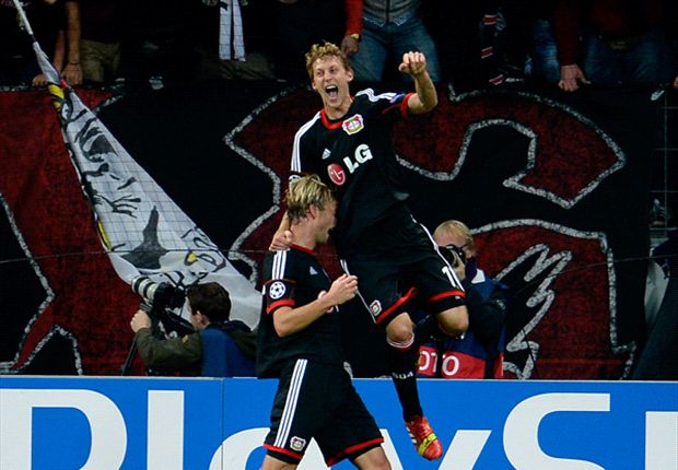 En el descuento, Bayer Leverkusen dejó a Real Sociedad con las manos vacías