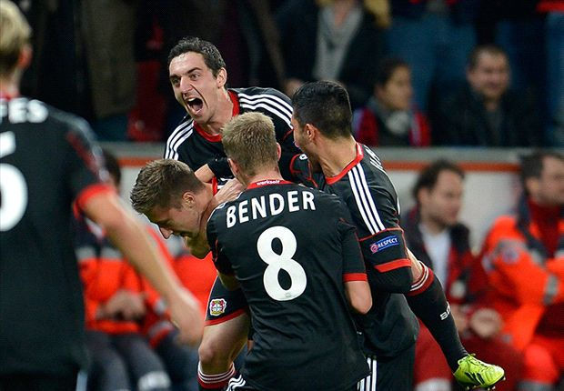 Bayer Leverkusen 2-1 Real Sociedad: Late Hegeler free kick hands three points to hosts