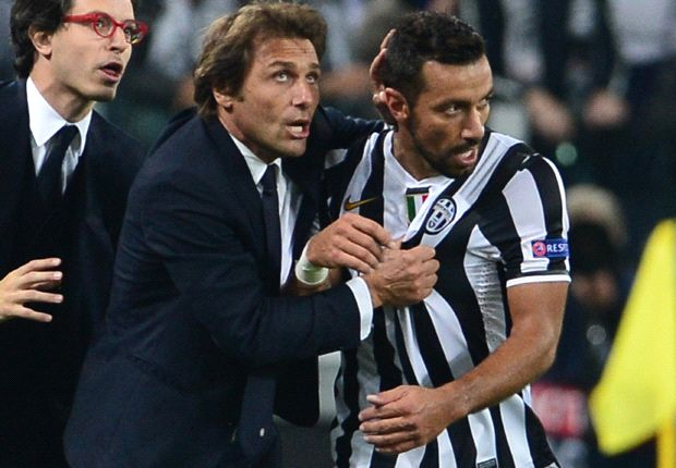 Conte hails 'incredible' Quagliarella