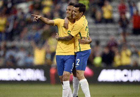Brazil tops Panama in friendly