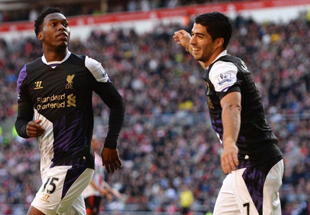 Rodgers: Liverpool play like Bayern with Sturridge & Suarez