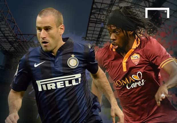 Spitzenspiel in Mailand - Inter gegen Roma