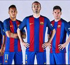 REVEALED: Barcelona's new kit