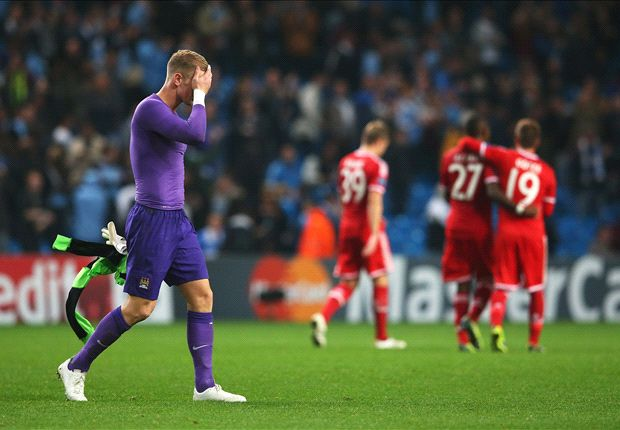 Manchester City boss Pellegrini: Hart has our trust