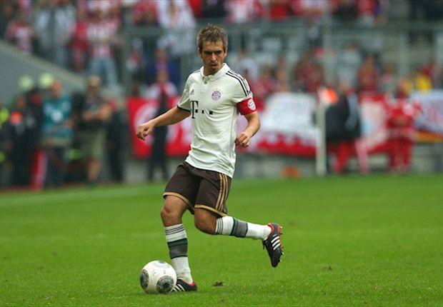 Auch im Mittelfeld bärenstark: FCB-Kapitän Philipp Lahm