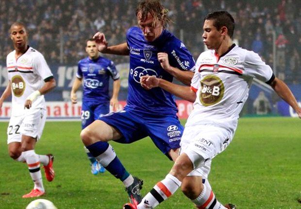 Bastia Hempaskan Lorient