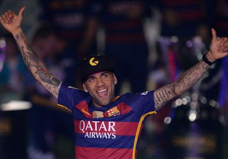 Farewell Alves - Messi's chief assistant
