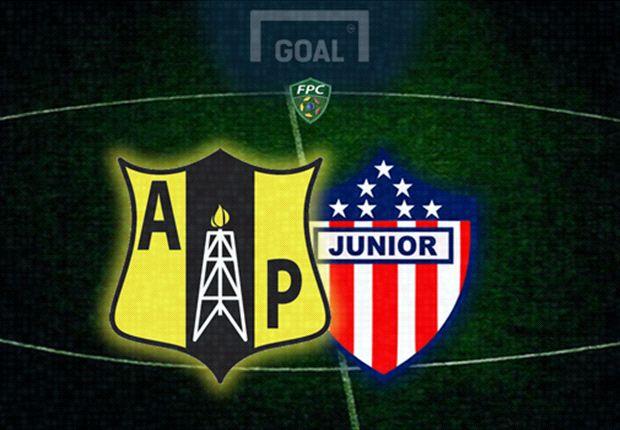 Alianza Petrolera y Júnior empataron en un partido atractivo