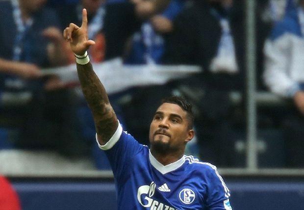 Drehte das Spiel mit seinen beiden Toren: Kevin-Prince Boateng von Schalke 04
