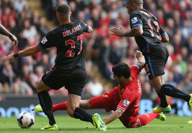 Luis Suárez marcó en su regreso a Anfield