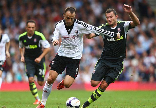 Fulham 1-0 Stoke City: Bent relieves pressure on Jol