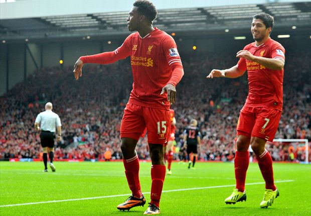Liverpool 3-1 Crystal Palace: Suarez & Sturridge star in Anfield cruise