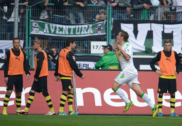 0:2 in Gladbach: Borussia Dortmund vergisst das Toreschießen