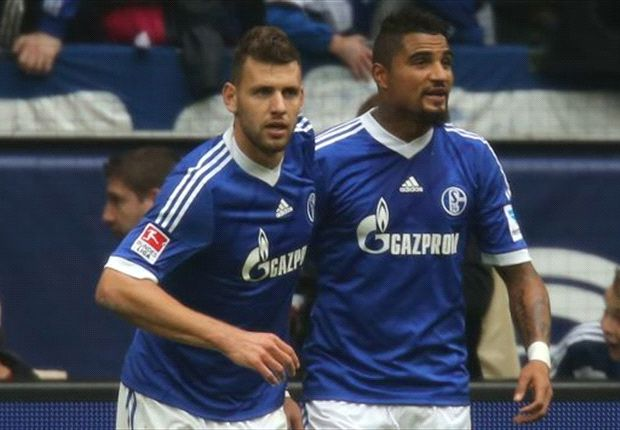 Adam Szalai and Kevin-Prince Boateng